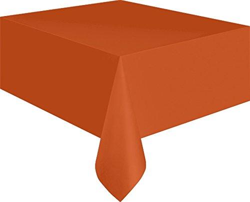 NET TOYS Tischdecke orange 137 x 274 cm Halloween Deko Tischdeko Tisch Decke Buffet