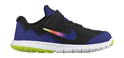 Nike Menina fogo Verde Impressão Preto Rosa deeppink psv Negro Vlts night Tênis Experiência Flex 4 dr4zWd7