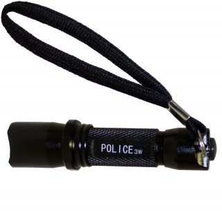 Preisvergleich Produktbild Police Taschenlampe mit CREE LED´s Herbst Sicherheit