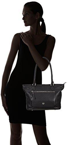 GERRY WEBER  Napoli II Shopper, Sacs portés épaule femme Noir - Noir