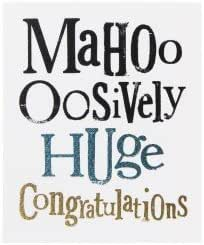 Bright Side By Rachel Bright - Mahoo oosively Huge Congratulations - NEW IN  CELLO (BS 157) : Amazon.co.uk: Stationery & Office Supplies