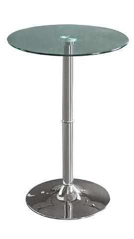 Stehtisch Glas Bartisch Rund - M-80406H/163