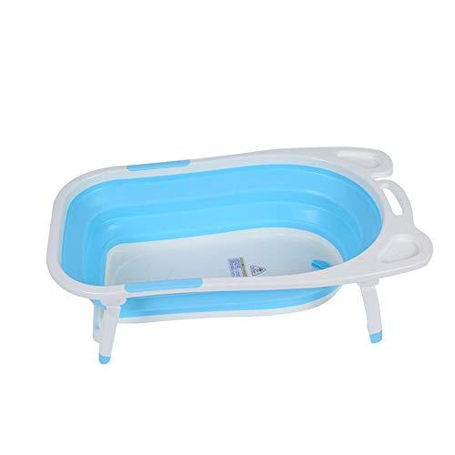 vaschetta bagnetto per doccia,Vasca da bagno per bambini, pieghevole, grandi vasche da bagno per bambini, da bagno @bianco