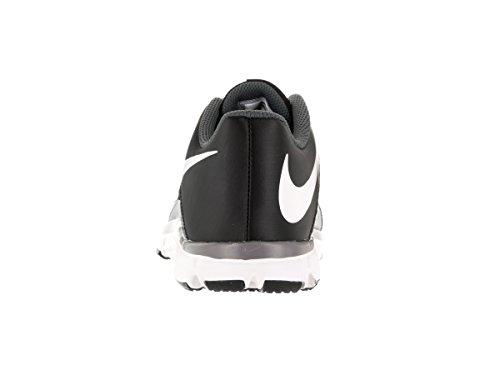 Nike Flex Supreme Tr 4 (Gs/Ps), Scarpe da Escursionismo Bambino Nero (Nero / Bianco-Grigio Scuro)