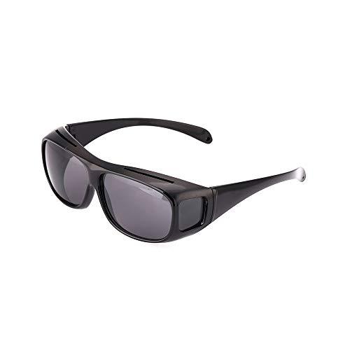ZPATYJFG Nachtsichtbrille Unisex High Definition Vision Sonnenbrille Autofahrbrille UV-Schutz Polarisierte Sonnenbrille Brillen