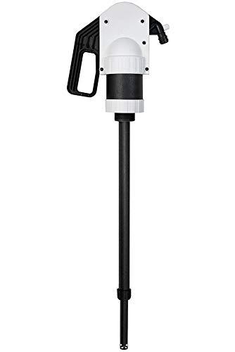 Samoa-Hallbauer Profi-Handpumpe HP-05/25-200 ÖL; leichte Fasspumpe; gebogener Fassadapter;...