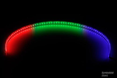 Phobya 0 LED-Flexlight LowDensity 60cm RGB (18x SMD LEDŽs) Modding PC Personalizados Luces Flexibles (Flexlight)