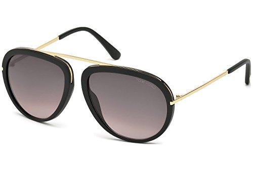 lunettes-de-soleil-tom-ford-ft0452-c57-02t-matte-black-gradient-bordeaux
