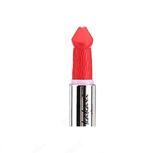 Pilzkopf Lippenstift,Damen Lippenstift Pilz Vampir-Kuss Lipgloss Zolimx