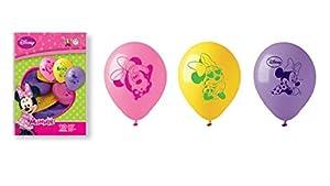 Juego de 10 globos. Minnie Taglia Unica multicolor