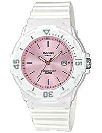 8fc444d8fc09 CASIO Reloj Analógico para Mujer de Cuarzo con Correa en Resina  LRW-200H-4E3VEF