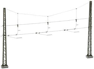 Viessmann - Catenarias para modelismo ferroviario H0 escala 1:87 (4162)