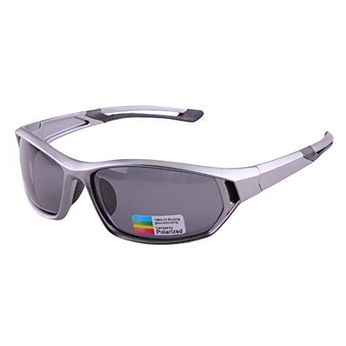 LBWNB Sportsonnenbrillen-CrazyFire UV 400 Schutz Unzerbrechliche Sportgläser Sonnenbrille Anti-UV-Sport-Outdoor-Sonnenmesslampen Reiten Photochromische Radnachrichtenlampen