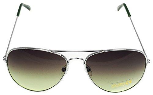 Klassische Pilotenbrille Unisex Sonnenbrille Fliegerbrille Pornobrille in vielen Farbkombinationen...