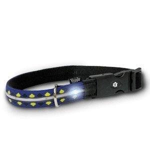 (Halsketten Helle LED für Hunde, Visiglo Argyle, Größe L)