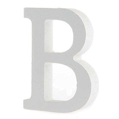 olz Holzbuchstaben Brauthochzeits Party Geburtstags Toys Hauptdekorationen Buchstabe B (Buchstabe B Craft)