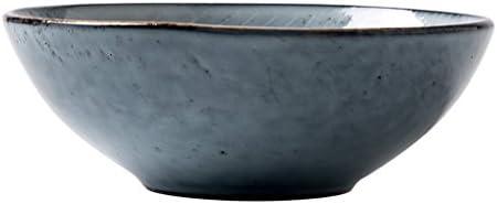 Caoyu Piatto rossoondo di Ceramica dell'insalata del Piatto Profondo di Retro stoviglie di Profondo Famiglia di Grandi Dimensioni - Ciotola di Rame (Dimensioni   2) d43792