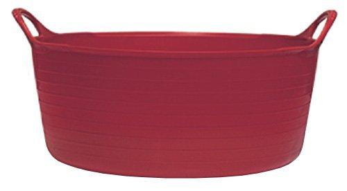 Decco Ltd Tubtrug Bassine 15 l, Rouge, Taille L