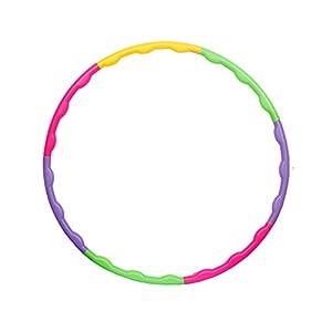 Lemong Hula-Hoop-Reifen für Kinder, zerlegbar, klein, für Training, Sport & Spiel
