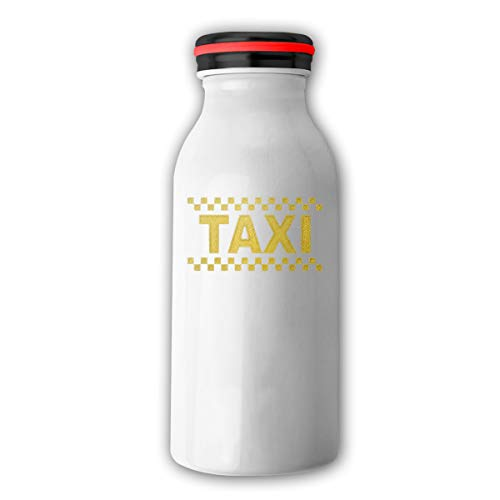 Best Funny Special Perfect Gifts Idea Personalized Custom Vacuum Cup Milk Cup Taxi Driver Cab Stainless Steel Camping Mug With Lid White