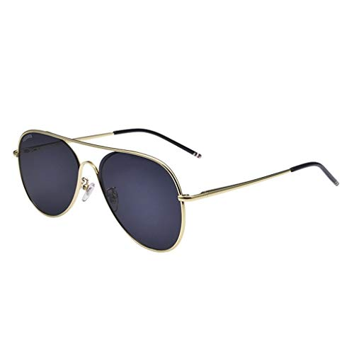 SUNGLASSES Sonnenbrille Man, Strahlenschutz Driving Anti-UV Eye Protection Polarisierte Sonnenbrille (Color : A)