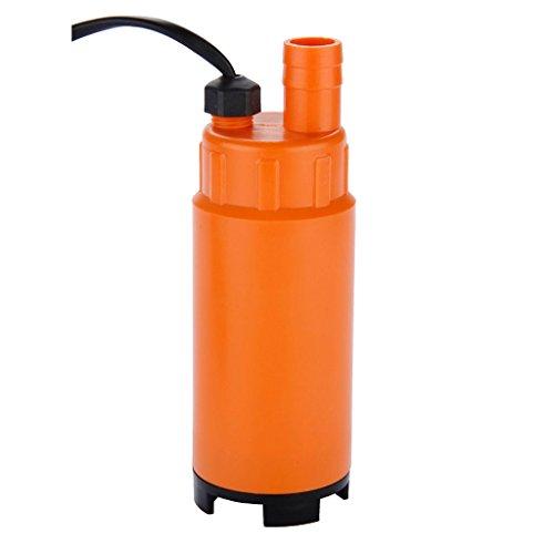Generic qy-uk4-16feb-20-619* 1* * 2559* * con tubo acqua submer Pompa immersione 12V DC, 12V dc di auto Sentina R Sentina Olio combustibile L auto Sentina