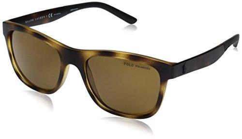 Polo Ralph Lauren Herren 0Ph4120 560283 55 Sonnenbrille, Braun (Semihavana/Polarbrown)
