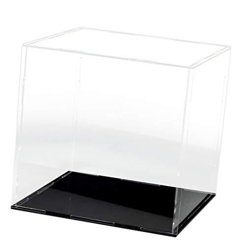 sharprepublic Weiß/Schwarz Acryl Vitrinen Display Case Einzelvitrine Schaukasten, 20 X 10 - 15x15x15cm