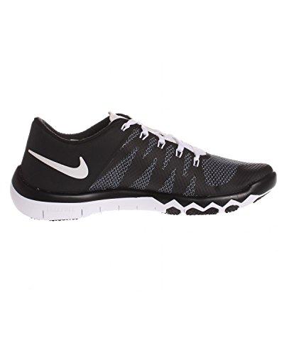 Nike Free Trainer 5.0 V6, Scarpe sportive, Uomo Negro / Blanco (Black / White-Bright Crimson)