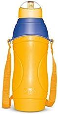Milton Kool Riona 600 Bottles with Straw (Orange)