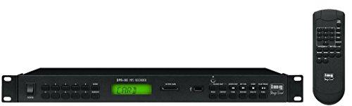 IMG Stage Line DPR-110 MP3-Recorder mit USB-Schnittstelle und SD/MMC-Card Slot schwarz