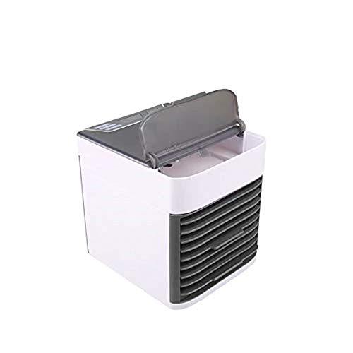 Xxyk Haushaltsluftkühler Verdunstungskühler Mini-Spray-Klimaanlage Luftkühler 9-Stunden-Timing USB-Kabel-Schnittstelle 7-farbiges LED-Licht
