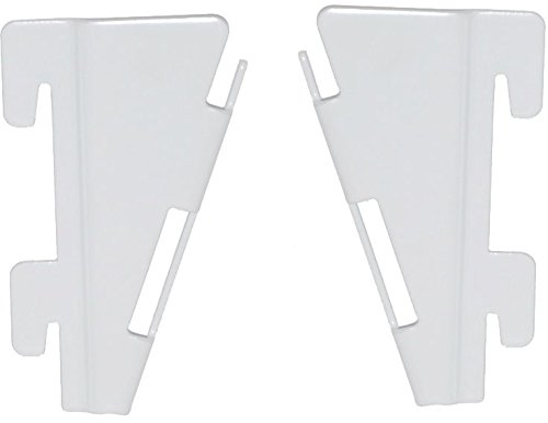 Element System 10719-00100 Adapter für Faltfachboden / 4 Stück/weiß
