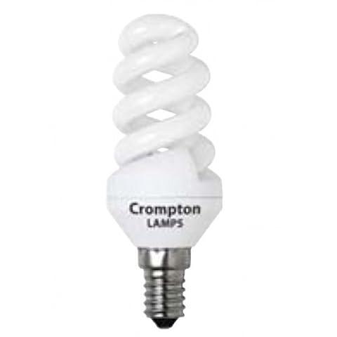 Crompton Mini Spiral T2 9W E14 Very Warm White