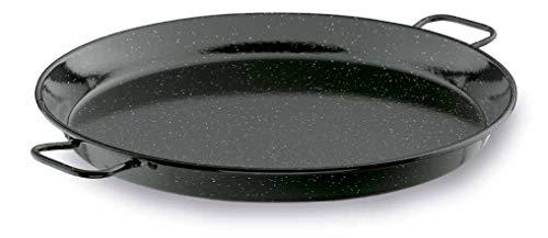 Lacor 60151- Padella per paella smaltata 50 cm