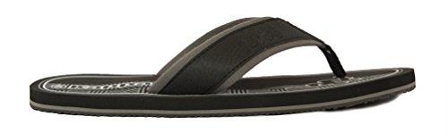 Kappa ,  Damen Herren Unisex Erwachsene Sneaker Low-Tops Black/White/Grey Dk