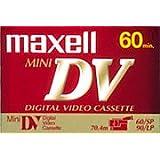 Cassette Mini-DV 60 minutes Maxell DVM 60