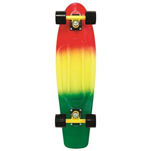 Penny Skateboard Fader , Red/Yellow/Green, 27 Zoll, PENDEK27FASE -