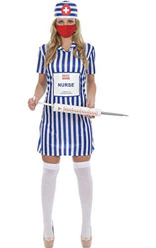 Kostüm Tesco Fancy Dress - ORION COSTUMES Value Fancy Dress Female Nurse Costume