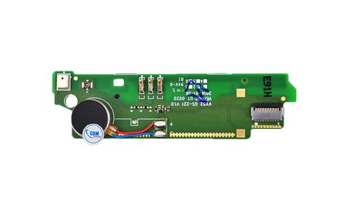 vibración vibración vibrador micrófono rófono micrófono flexible para Sony Xperia M2 Aqua D2403 4G