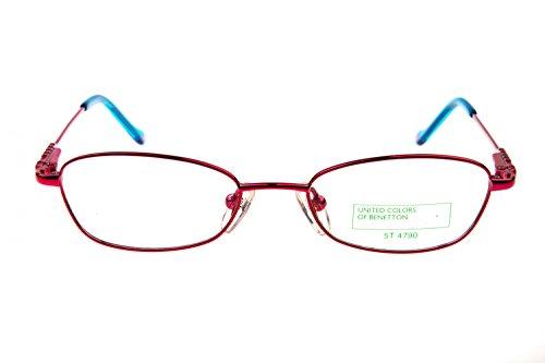 Preisvergleich Produktbild Benetton Kinder Brille 462 E20, Farbe:Rosa