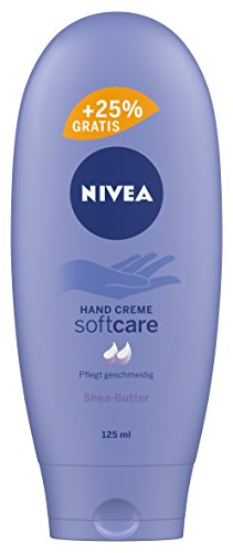NIVEA 4er Pack Hand Creme, 4 x 100 ml + 25 ml Gratis, Soft Care