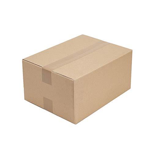 KKCF Faltkarton Versandkarton Braun 5 Lagen Wellpappe Anti-Fallen Verschleißfest Versand Von Verbrauchsmaterialien,7 Größen,10/20 Pro Packung