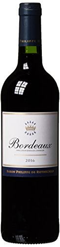 Baron Philippe de Rothschild Bordeaux AOC Rouge Merlot 2015/2016 Trocken (1 x 0.75 l)