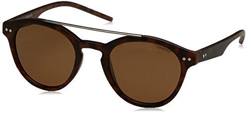 Polaroid - PLD 6030/S - Sonnenbrille Damen und Herren Runde - Leichtes Material - Polarisiert 100% UV400 schutz - Schutzkasten inklusiv