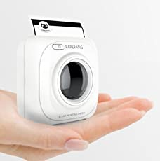 Buildtough Portable Bluetooth 4.0 Photo Printer (83x83x45mm, White)