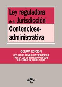 Ley reguladora de la jurisdiccion contencioso-administrativa (8ªed.) (Biblio.Textos Legales 2010) por V. Moreno Catena