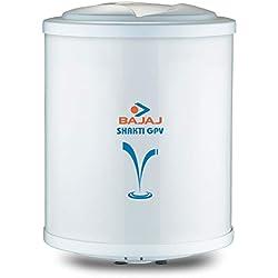 Bajaj Shakti Storage 15 LTR Vertical Water Heater, White 4 Star