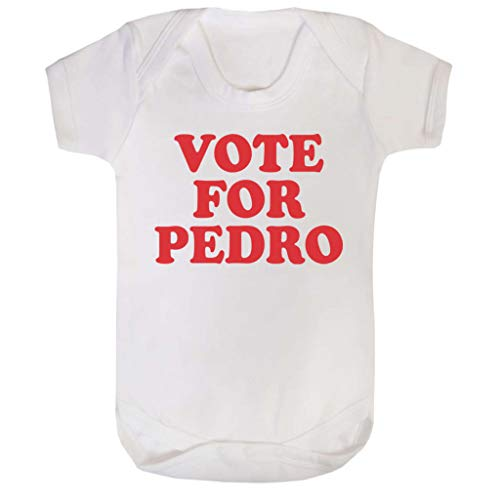 Cloud City 7 Napoleon Dynamite Vote for Pedro Baby Grow Short Sleeve
