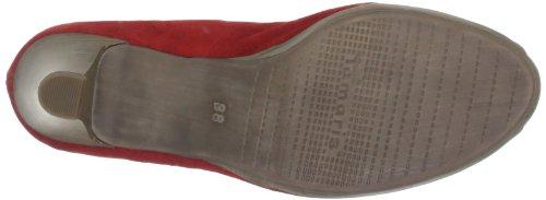 Tamaris 1-1-29302-20 Damen Peep-Toe Rot (CHILI SUEDE 550)